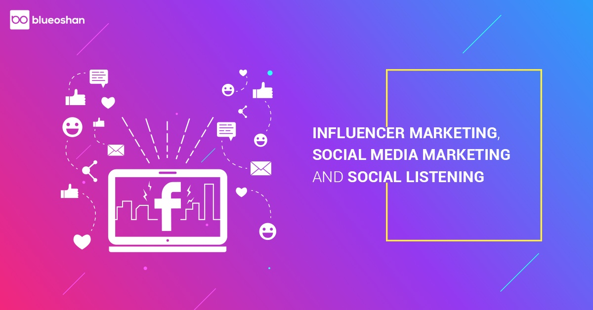 Influencer Marketing,Social Media Marketing & Social Listening